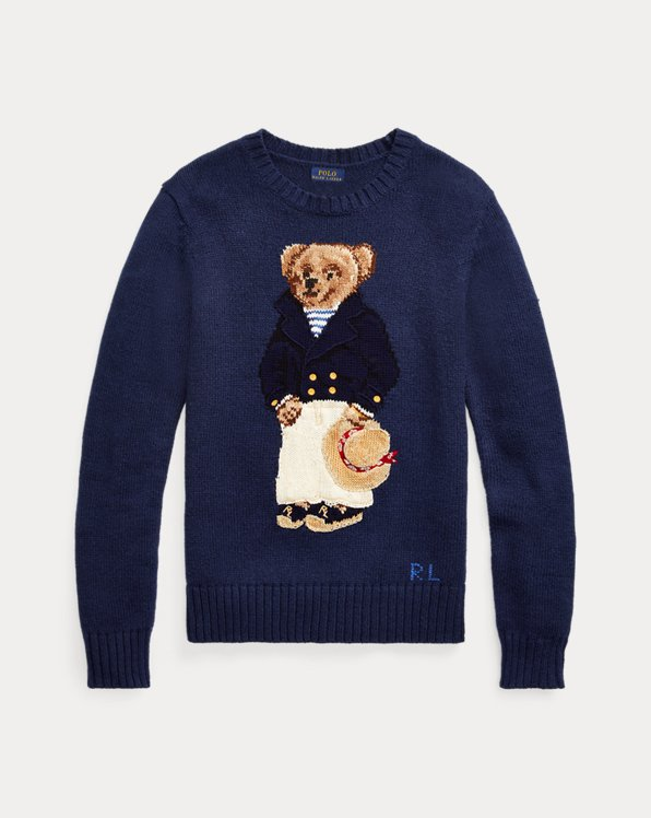 Nautical Polo Bear Jumper