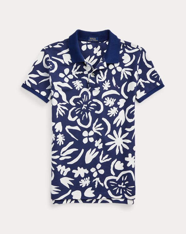 Classic Fit Floral Polo Shirt