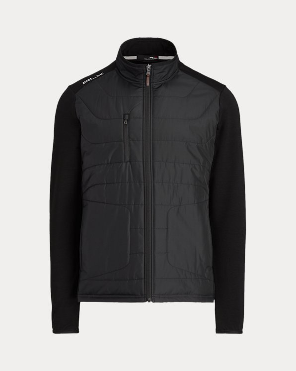 Panelled Stretch Terry Jacket