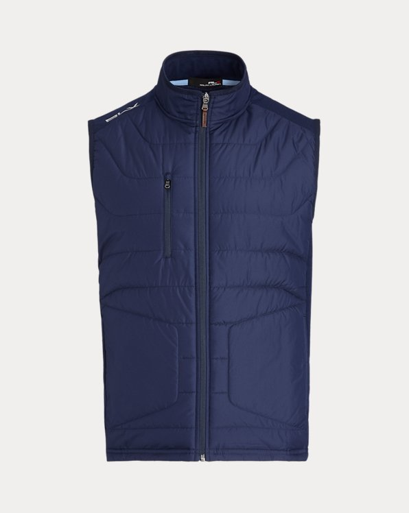 Paneled Stretch Terry Vest