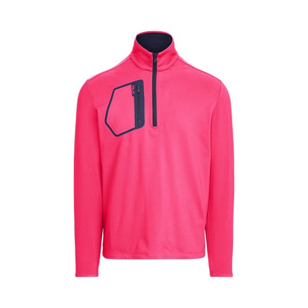 Ralph Lauren Performance Jersey Pullover In Pink
