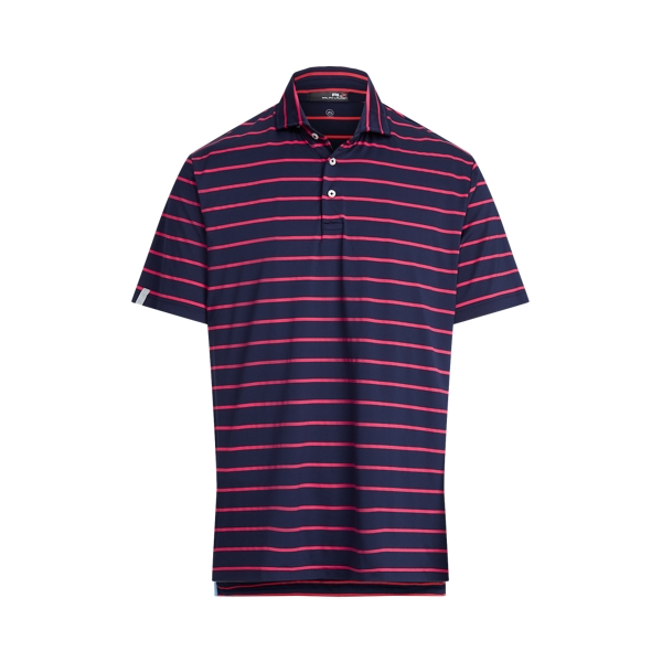 Ralph Lauren Classic Fit Performance Polo Shirt In Purple