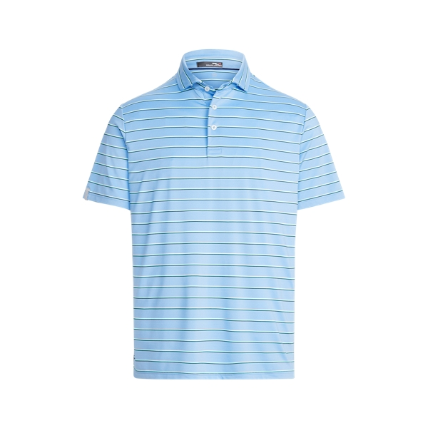 Ralph Lauren Classic Fit Performance Polo Shirt In Blue
