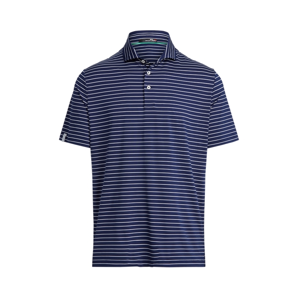 Ralph Lauren Classic Fit Performance Polo Shirt In French Navy/pure White
