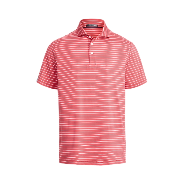 Ralph Lauren Classic Fit Performance Polo Shirt In Red