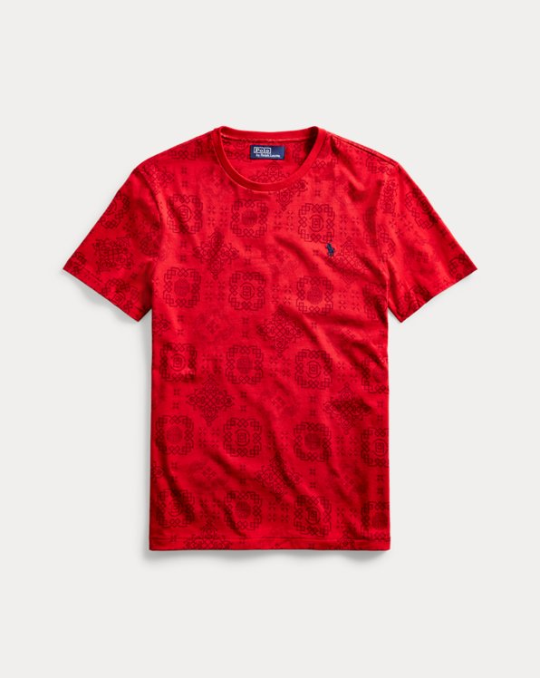 Polo CLOT Royale-Print T-Shirt