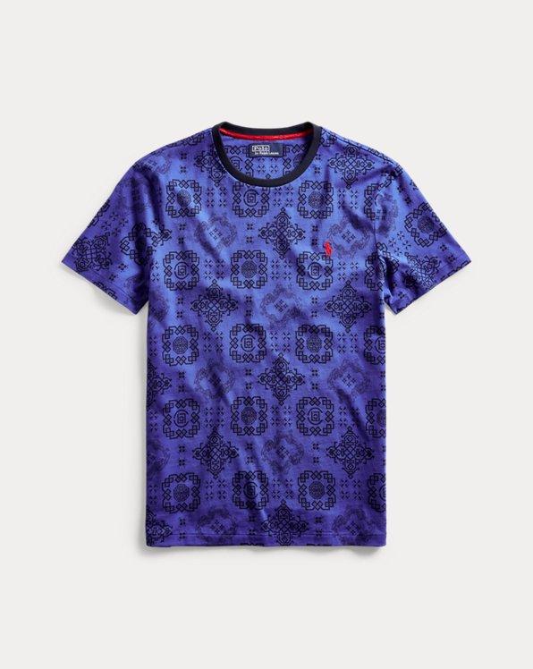 Maglietta Polo CLOT con stampa Royale