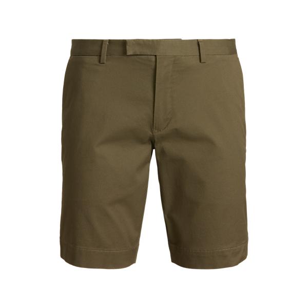 Ralph Lauren 9-inch Stretch Slim Fit Chino Short In Green