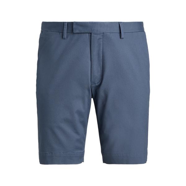 Ralph Lauren 9-inch Stretch Slim Fit Chino Short In Blue