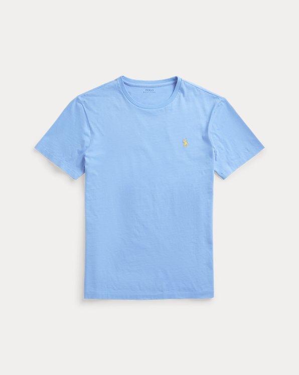T-shirt ajusté à col rond en jersey