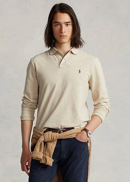 Polo Ralph Lauren Custom Slim Fit Mesh Polo Shirt