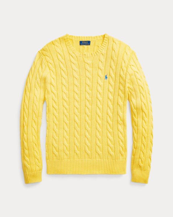 Men S Yellow Sweaters Cardigans Pullovers Ralph Lauren