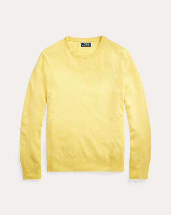 Washable Cashmere Crewneck Sweater