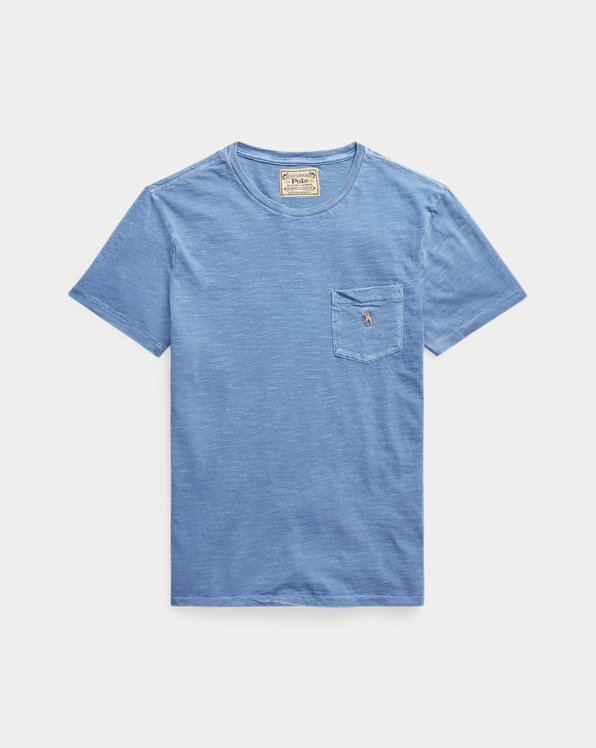 T-shirt ajusté en jersey à poche
