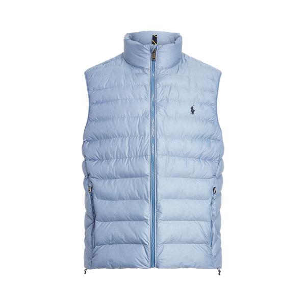 폴로 랄프로렌 조끼 Polo Ralph Lauren The Packable Vest,Seahorse Heather