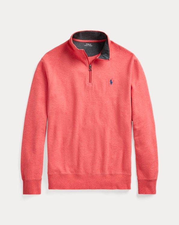 Luxury Jersey Quarter-Zip Pullover