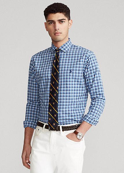 Polo RalphLauren Classic Fit Plaid Poplin Shirt