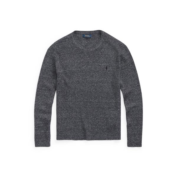 폴로 랄프로렌 맨 골지 니트 스웨터 Polo Ralph Lauren Rib Knit Crewneck Sweater, Hunter Navy