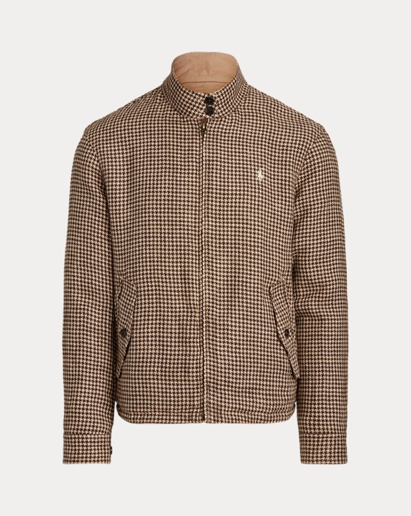 Reversible Mockneck Jacket