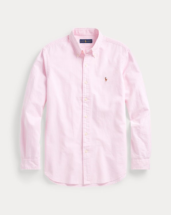 Classic Fit Gingham Oxford Shirt