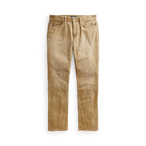 폴로 랄프로렌 Polo Ralph Lauren Varick Slim Straight Corduroy Pant,Capetown Beige