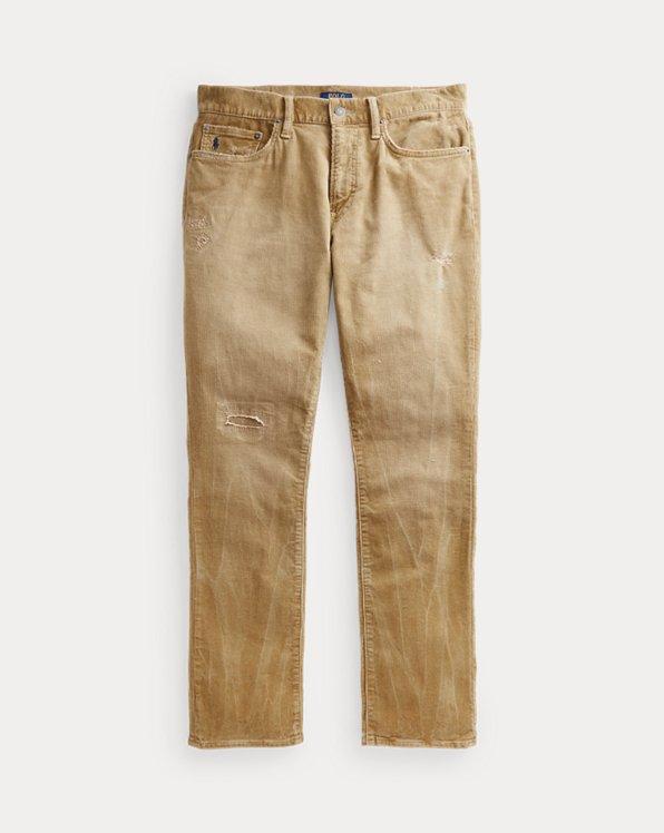 Pantalon Varick slim en velours