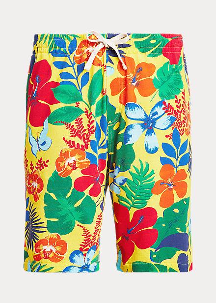 Polo Ralph Lauren Floral-Print Spa Terry Short