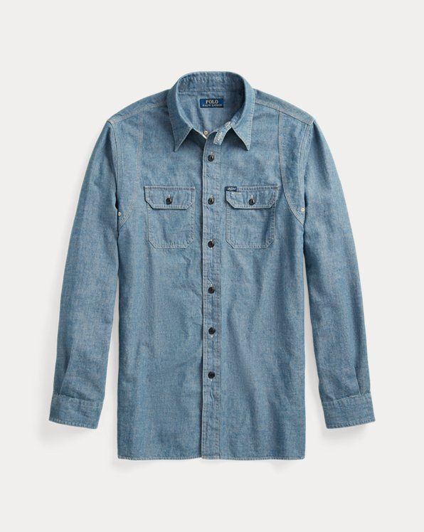 Custom Fit Chambray Shirt