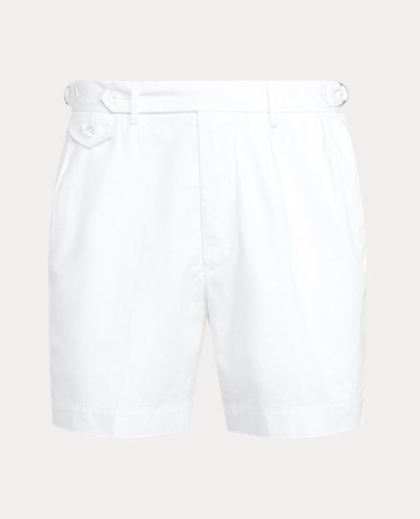 7-Inch Classic Fit Pleated Twill Short
