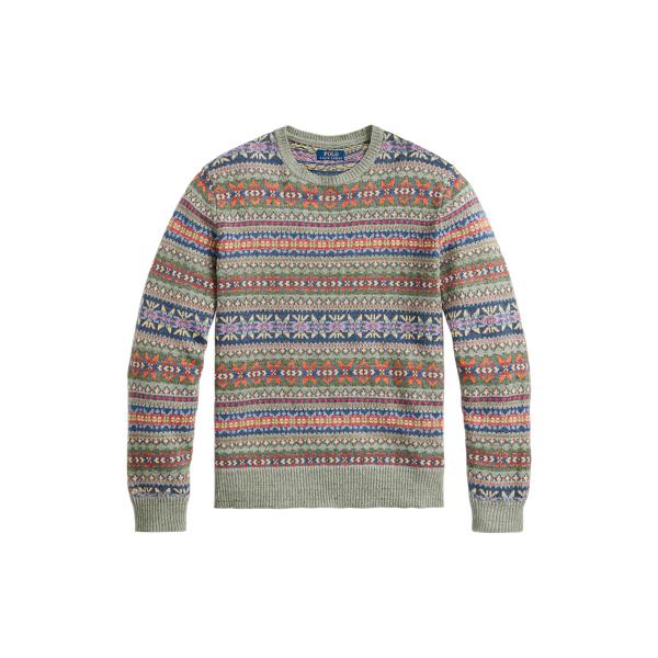 폴로 랄프로렌 맨 페어아일 스웨터 Polo Ralph Lauren Fair Isle Sweater,Multi