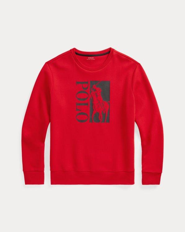 Big Pony Logo Double-Knit Sweatshirt