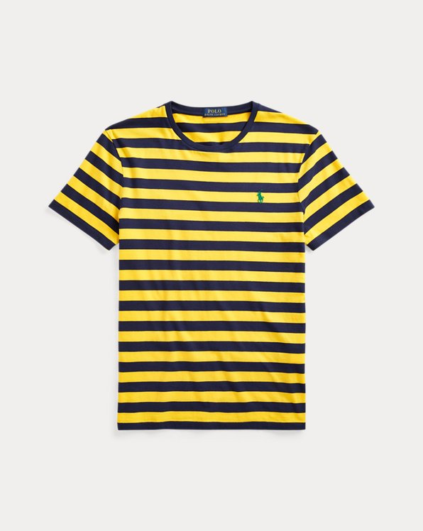 Classic Fit Striped Crewneck T-Shirt