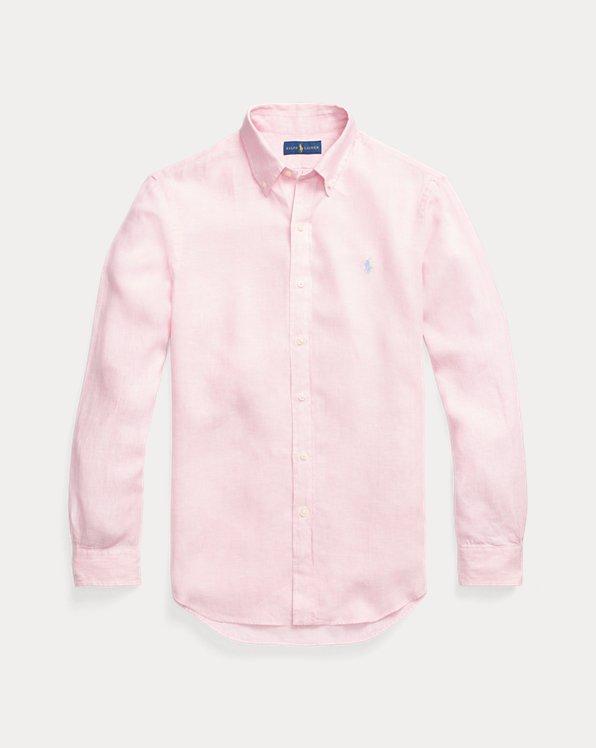 Slim-Fit Leinenhemd