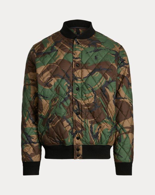 Giacca idrorepellente camouflage