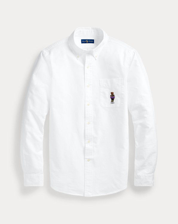 Classic Fit Polo Bear Oxford Shirt