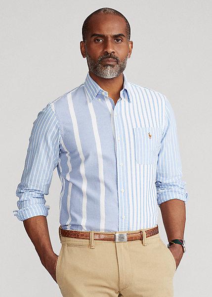 Polo Ralph Lauren Classic Fit Striped Oxford Fun Shirt