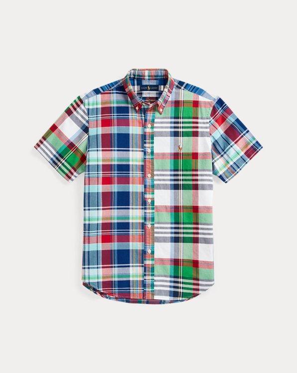 Classic Fit Plaid Oxford Fun Shirt