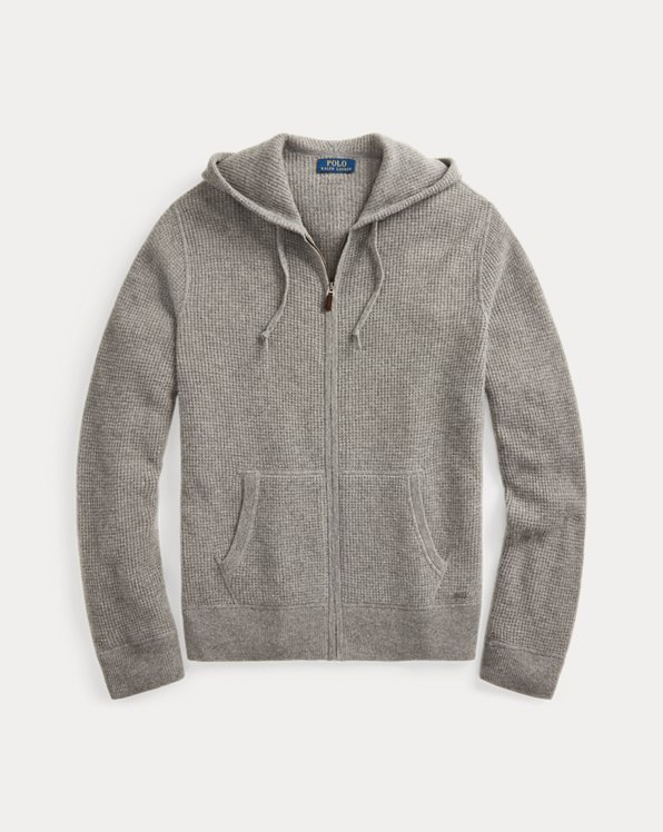 Washable Cashmere Hooded Sweater
