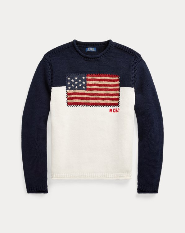 Colour-Blocked Flag Jumper