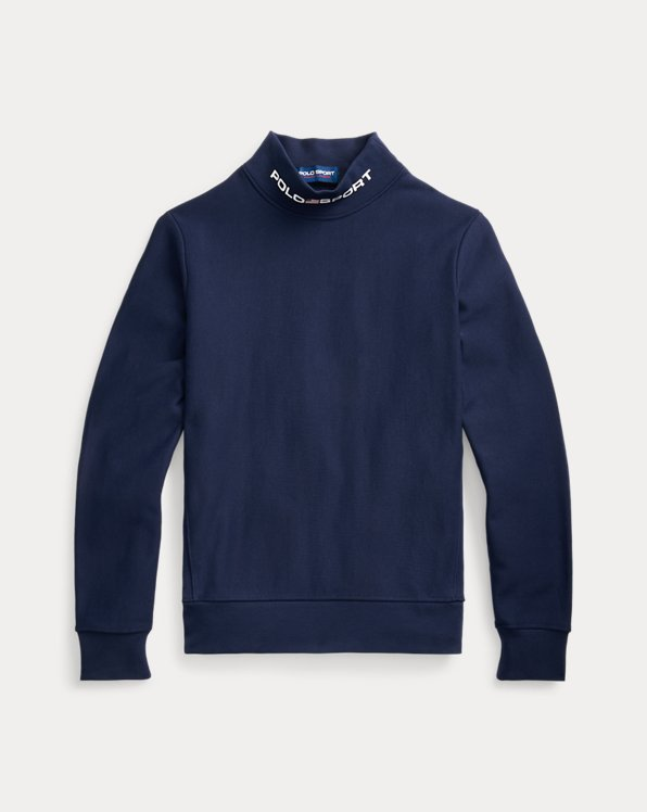 Polo Sport Fleece Mockneck Sweatshirt