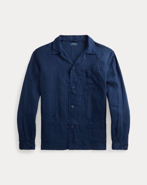 Chemise workwear classique en lin