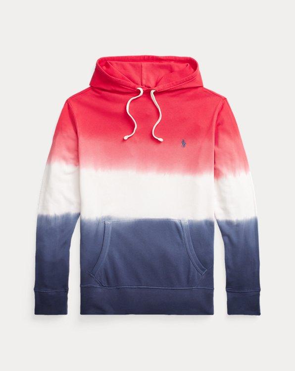 Tauchgefärbtes Terry-Kapuzenshirt