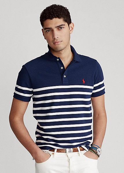 Polo Ralph Lauren Custom Slim Fit Spa Terry Polo Shirt