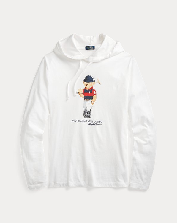 Polo Bear Jersey Hooded T-Shirt