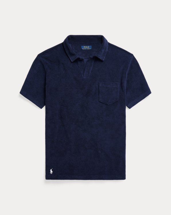 Custom Slim Fit Terry Polo Shirt