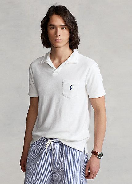 Polo Ralph Lauren Custom Slim Fit Terry Polo Shirt