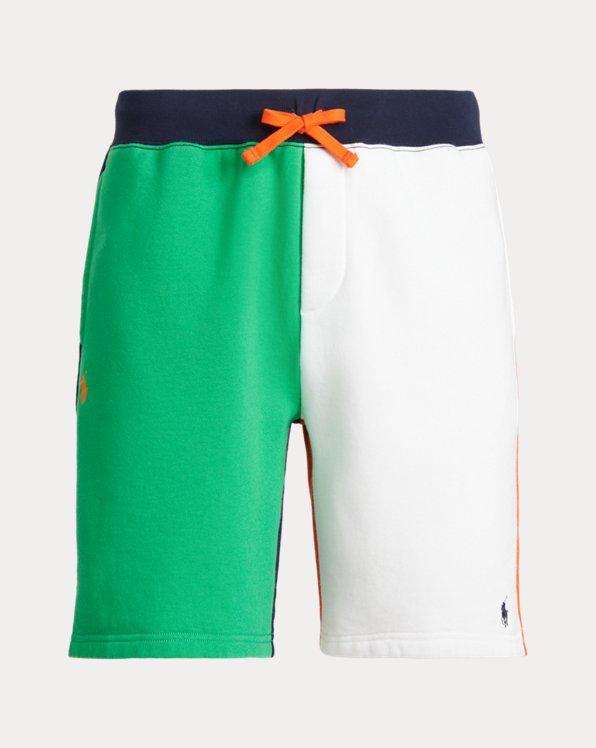 8-Inch Color-Blocked Fleece Short