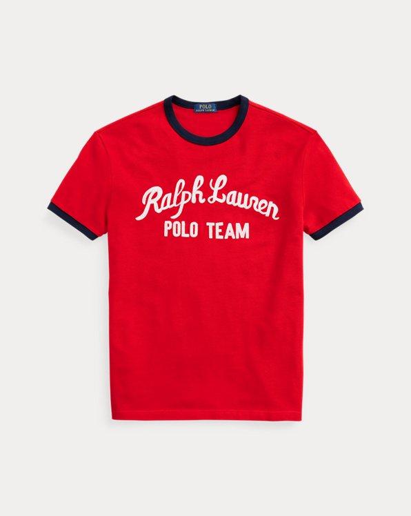 Classic Fit Polo Team Mesh T-Shirt