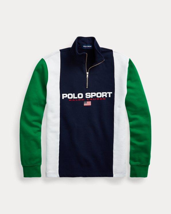 Sweatshirt Polo Sport aus Fleece