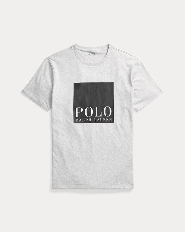 Custom Slim Fit Logo Jersey T-Shirt